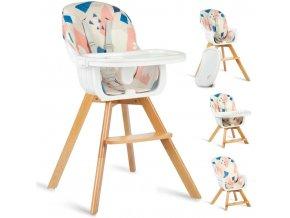 Jídelní židlička multicolor, vzor 700204