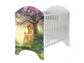Dětská postýlka bambi natural 120x60cm