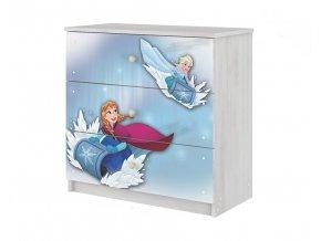 Dětská komoda disney - Frozen 80x80cm