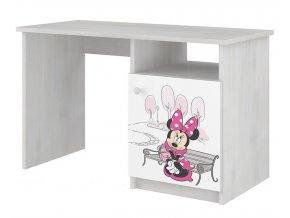 Dětský psací stůl disney myška minnie paris