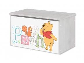 Dětská truhla na hračky disney medvídek pú
