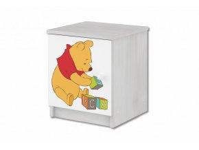 Dětský noční stolek disney medvídek pú a tygřík