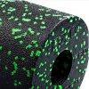 Masážní válec - 33 cm černá - zelená