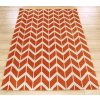 Koberec Asiatic Contemporary Design - ARLO AR07 Chevron Orange
