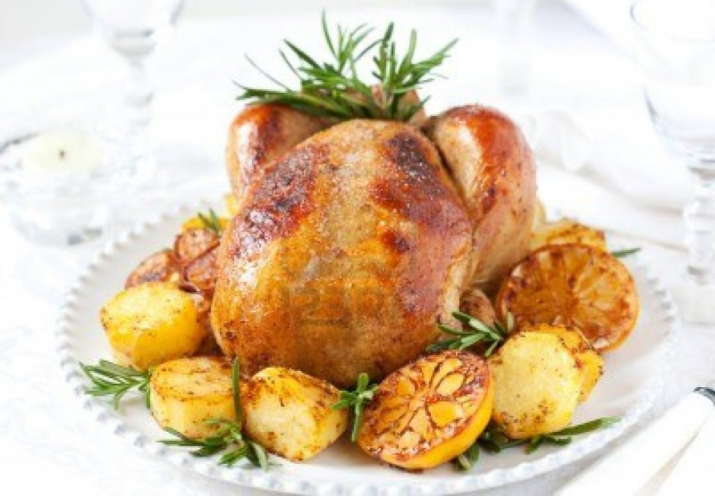 Kuře s rozmarýnem