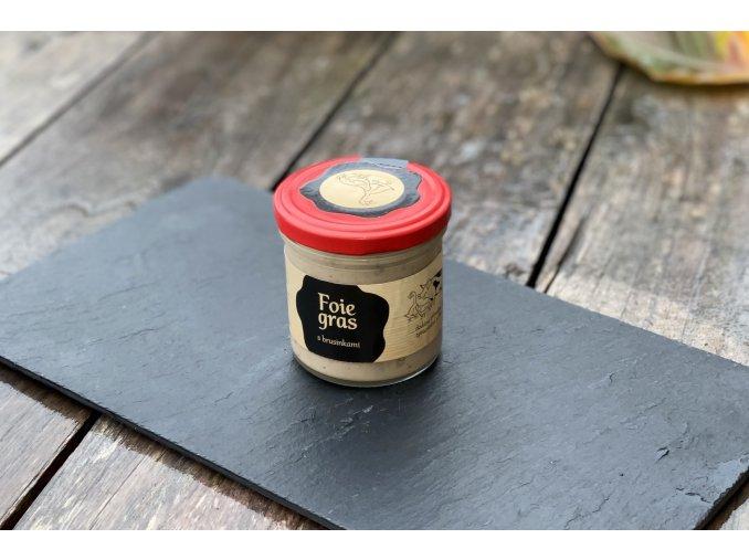 Foie gras s brusinkami 165ml
