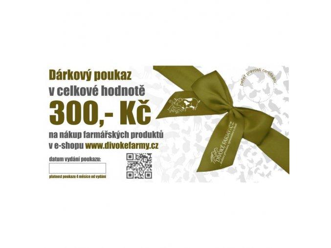darkovy poukaz Farmy 300 900x900