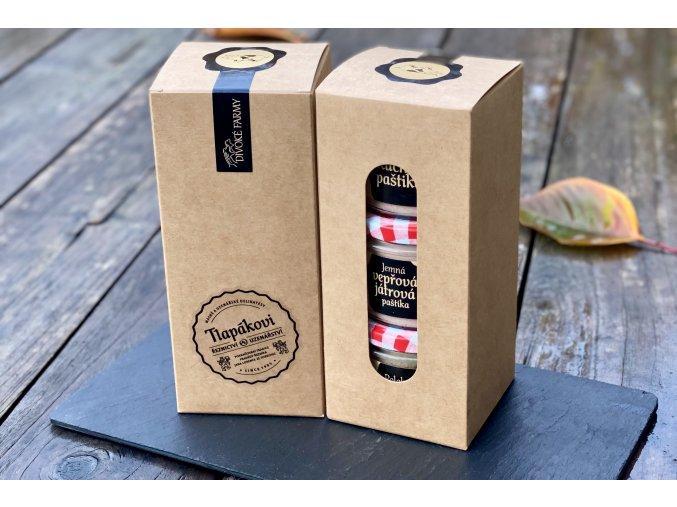 Dárkový balíček - trio paštik