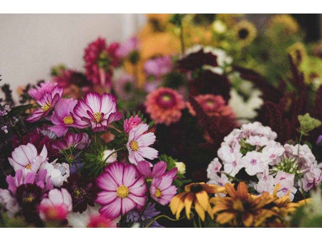 Kurz podzimní kytice (14.9.2021)