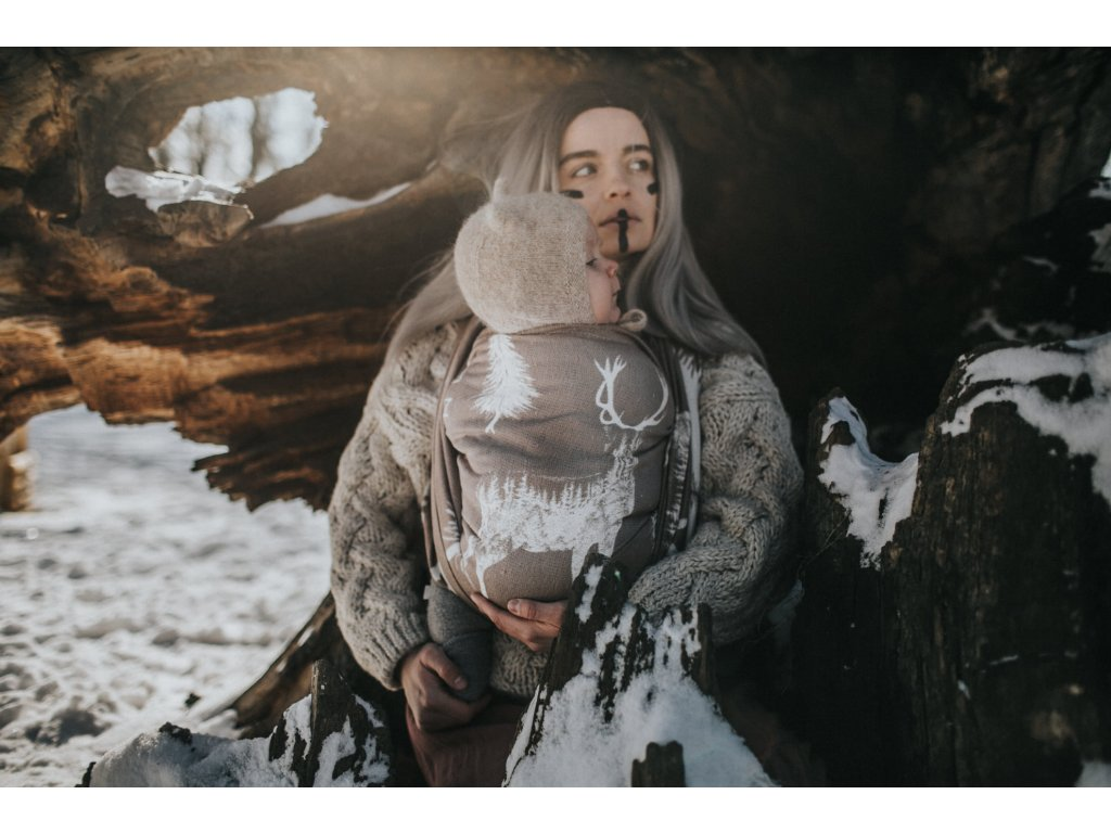 Šátek Wild Slings Freres de sang - La sittelle