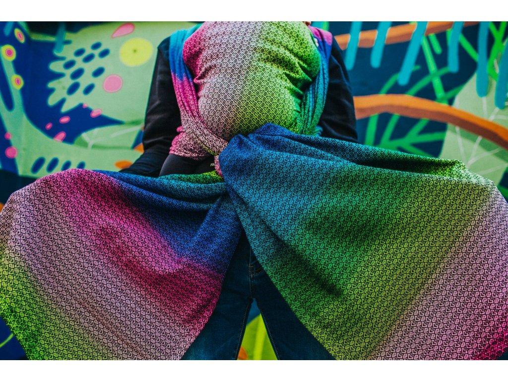 Šátek Diso Bisous - Rainbow