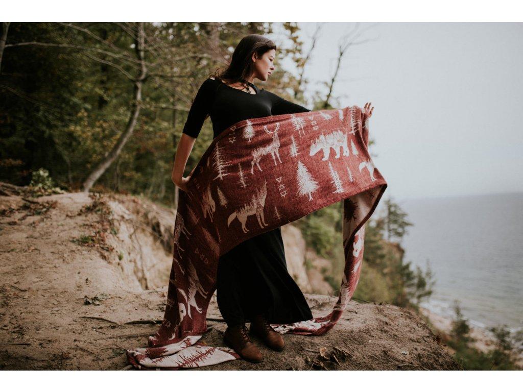 Šátek Wild Slings Freres de sang – Le rubis