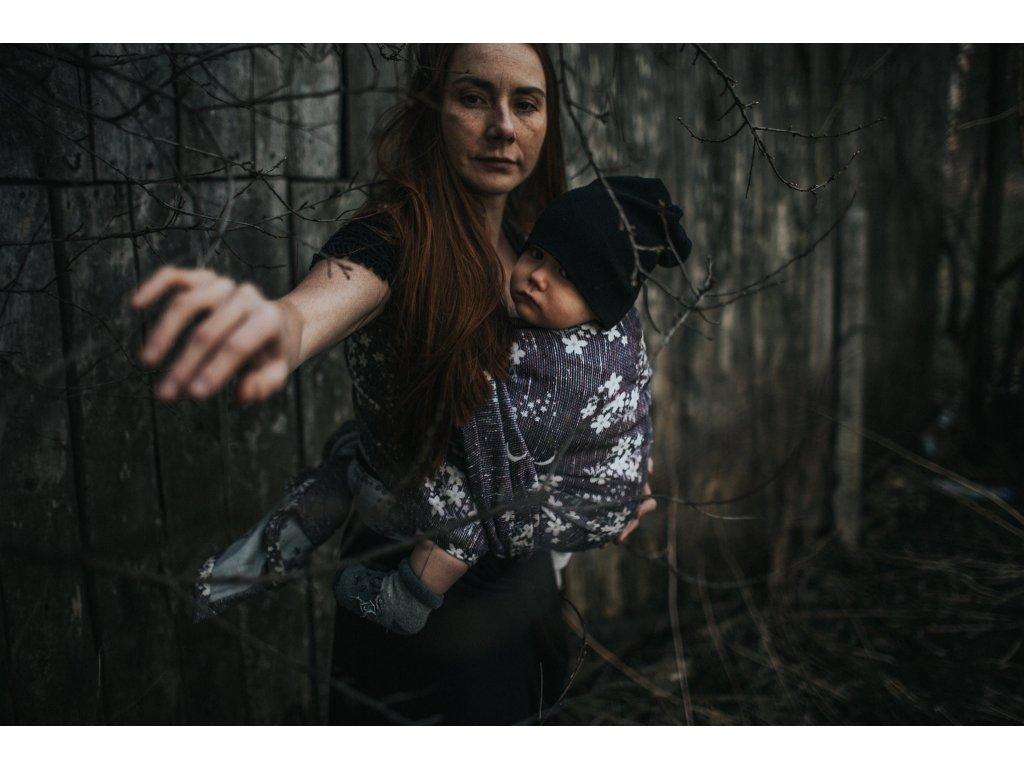 Šátek Wild Slings L'heure des merveilles - Météorites martiennes