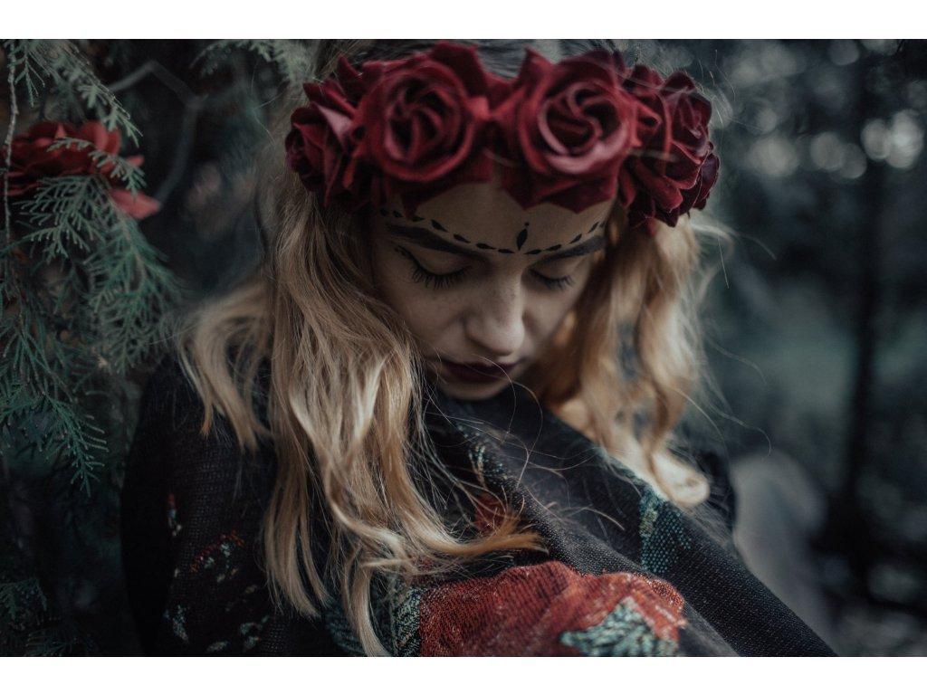Šátek Wild Slings Jardin Secret - Dormant