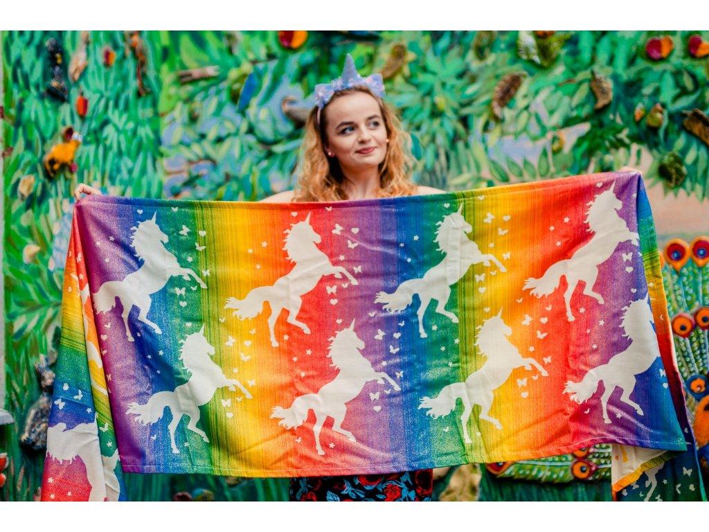 Šátek Diso Pride Unicorn – Blink Blink