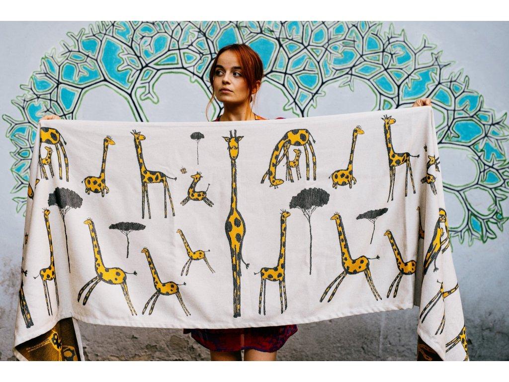 Autographe de girafe