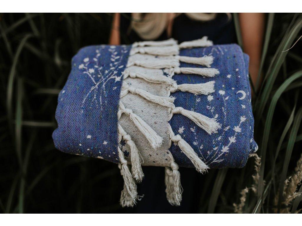 Šátek Wild Slings Reves de la lune - champ de lavande