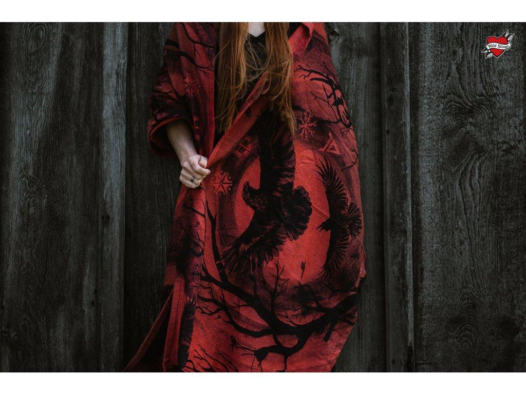 Šátek Wild Slings Les corbeaux de l'orage - la crépuscule