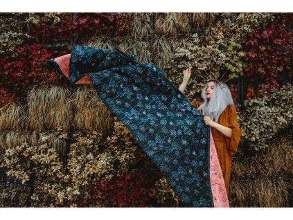 Šátek Wild Slings La dentelle de la reine Anne – le ciel d'été