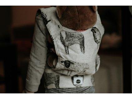 Nosítko pro panenku - Black Sheep