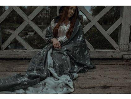 Šátek Wild Slings Les Tenebres – Granit