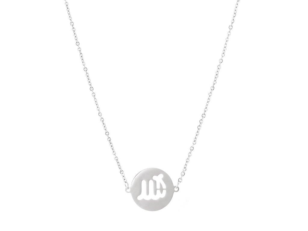 Ocelový náhrdelník znamení zvěrokruhu - PANNA