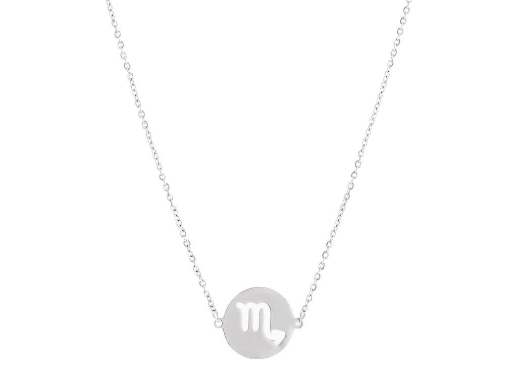 Ocelový náhrdelník znamení zvěrokruhu - ŠTÍR