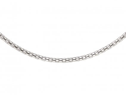 Ocelový řetízek Mesh 50/0,3 cm