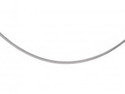 Ocelový řetízek hadí hranantý 50/0,2 cm