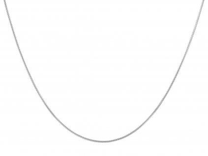 Ocelový řetízek hadí 55/0,25 cm