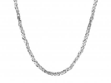 Masivní ocelový řetízek Royal 60/0,8 cm