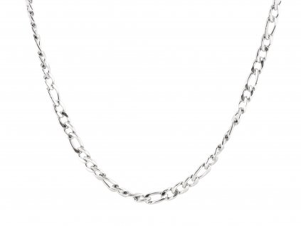 Masivní ocelový řetízek Figaro 55/1,1 cm