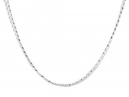 Masivní ocelový řetízek Pancer 55/1 cm