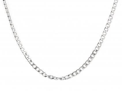 Masivní ocelový řetízek Pancer 55/0,8 cm