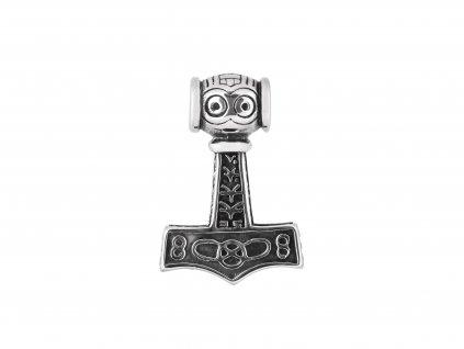 Ocelový přívěsek Thorovo kladivo