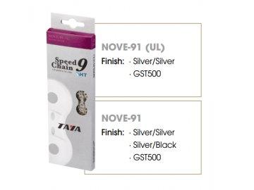 Řetěz Taya NOVE-91 SILVER/BLACK