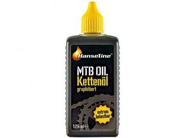 """Mazivo na řetězy  Kettenöl """"MTB Oil"""" 125ml"""