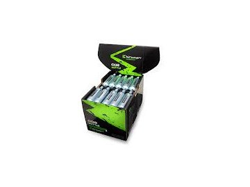 Box 50 ks. bombiček CO2 Birzman Zacoo bottle 16g