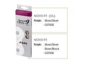 Řetěz Taya NOVE-91 SILVER/SILVER