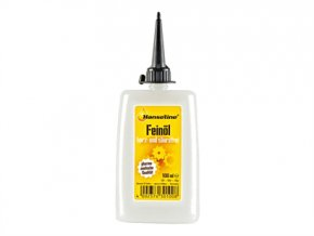 Syntetické uhlovodíkové mazivo Feinmechaniköl 100ml