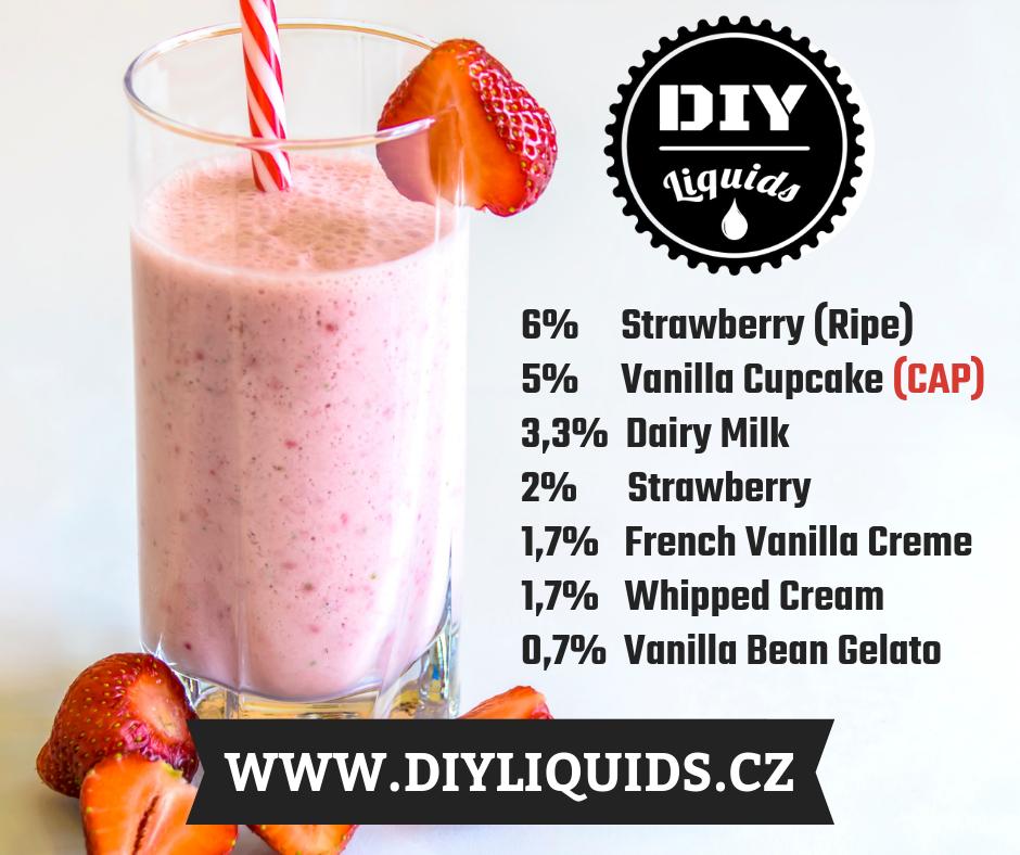 Recepty - Sladký jahodový milkshake