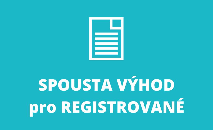 vyhody pro registrovane