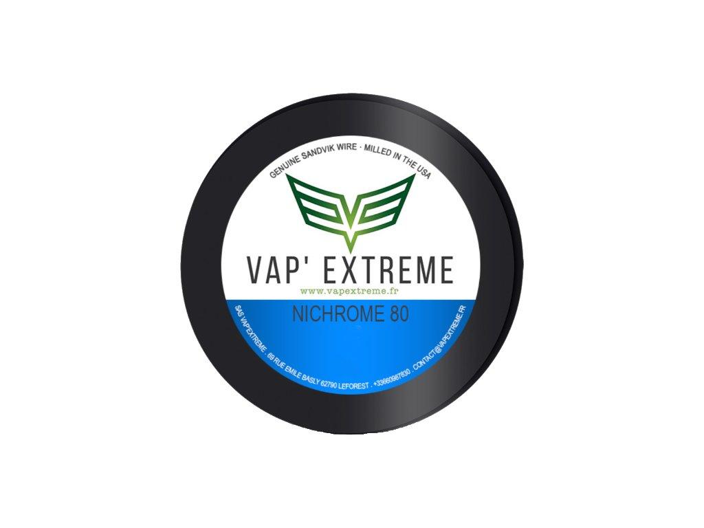 Vap Extreme - Ni80 nichromový odporový drát 9m 28GA 0,3mm
