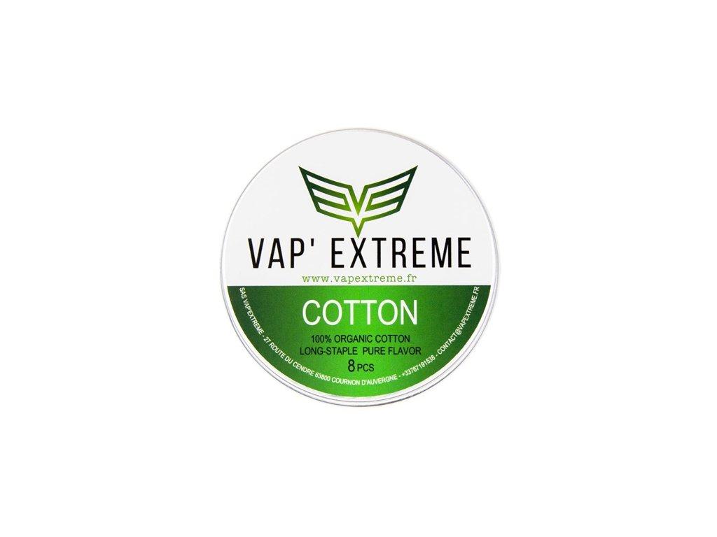 Vap Extreme Organic Cotton vata - 8ks