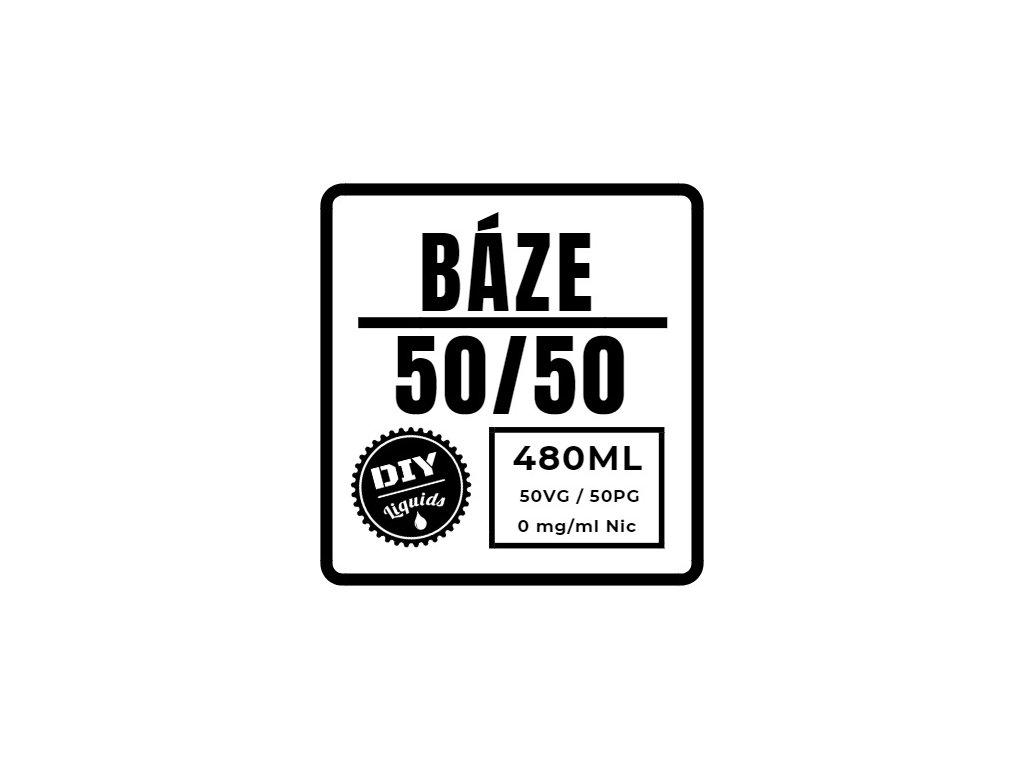 Beznikotinová Báze 50/50 480ML