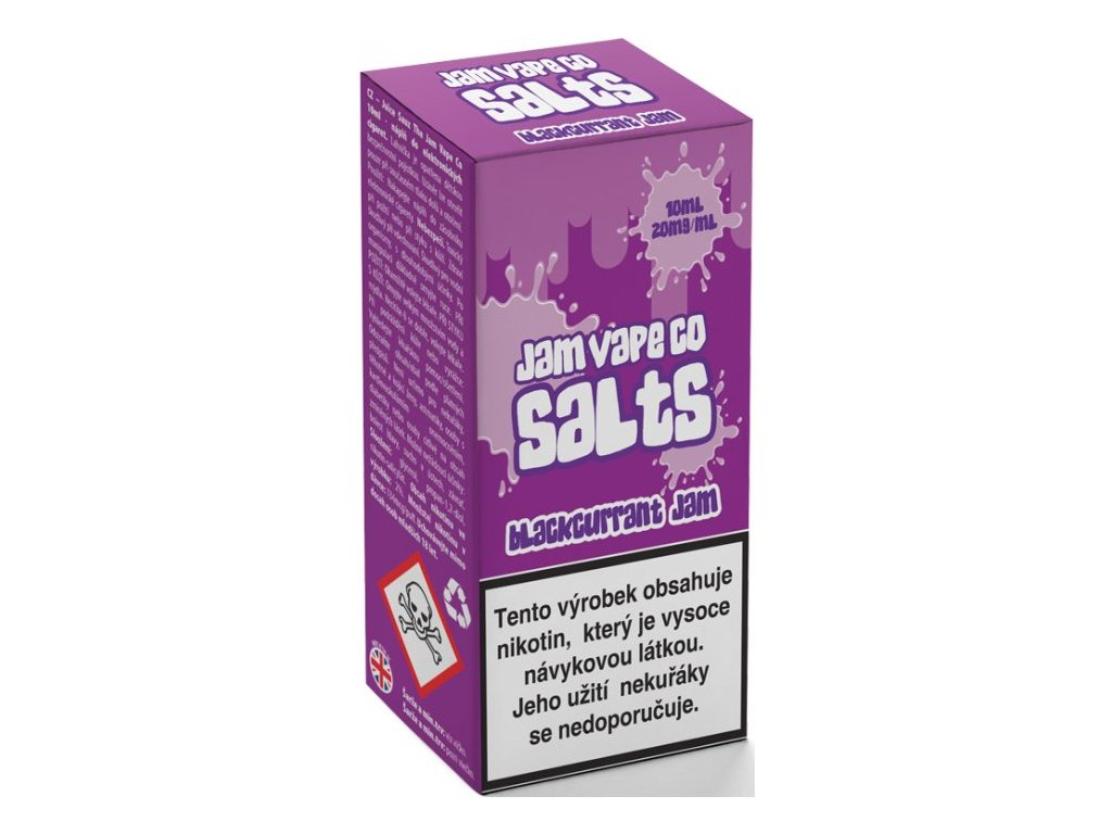 Juice Sauz e-liquid Jam Vape Co Blackcurrant Jam 10ml - 20mg nikotinu/ml