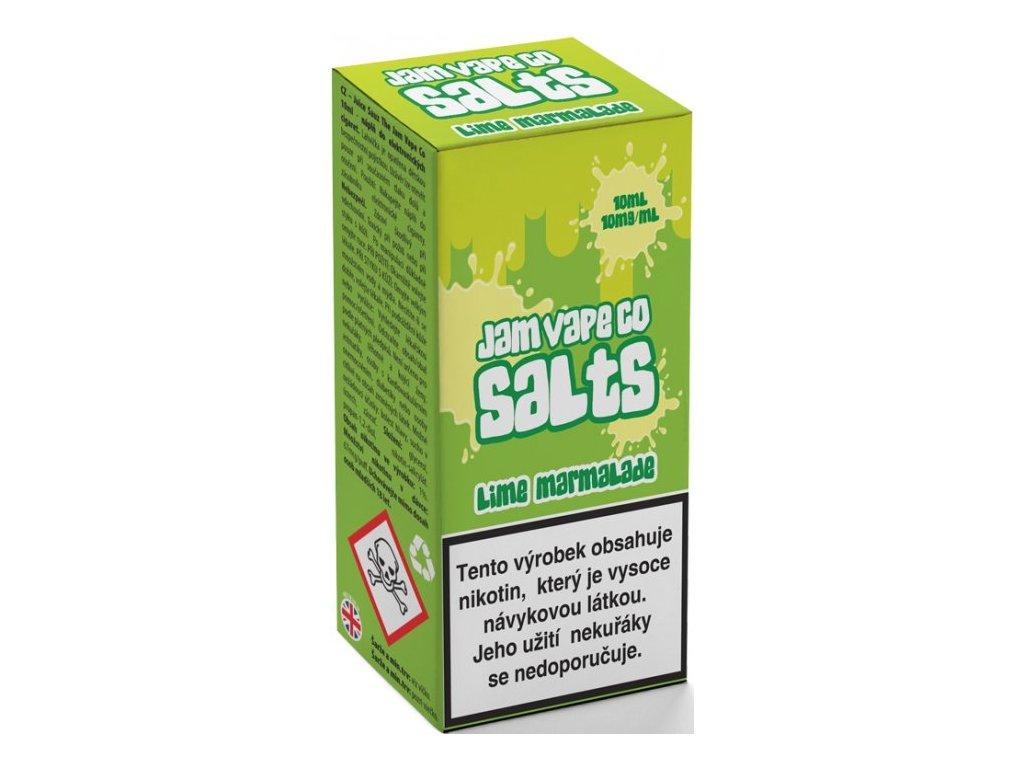 Juice Sauz e-liquid Jam Vape Co Lime Marmalade 10ml - 10mg nikotinu/ml