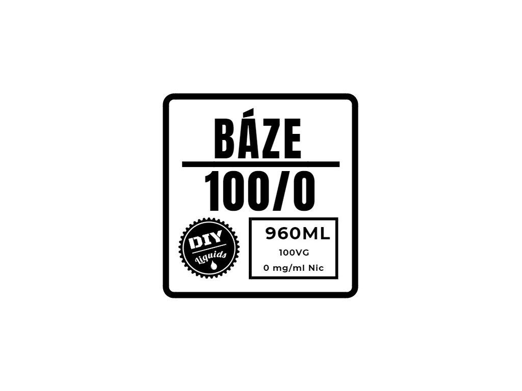 Beznikotinová Báze 100%VG 960ML