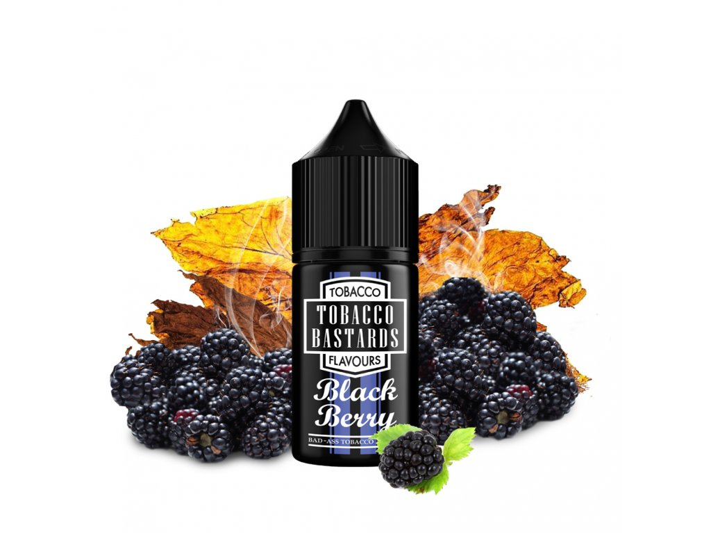 Příchuť Flavormonks Tobacco Bastards Fruit Blackberry Tobacco 10ml