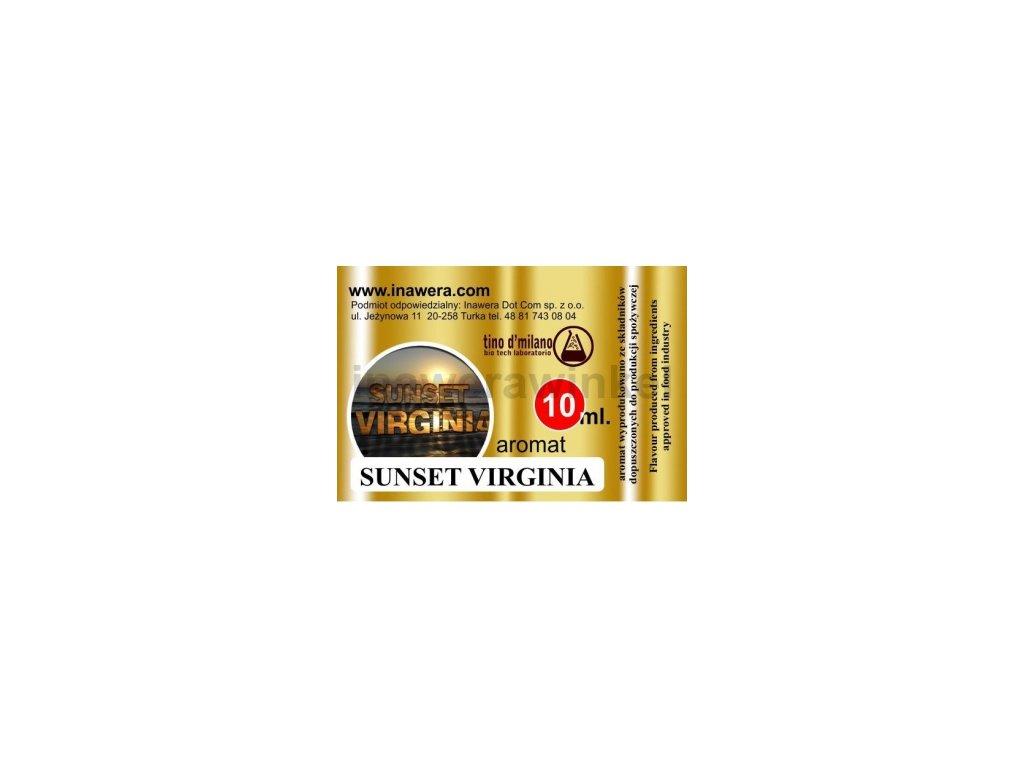 INW SUNSET VIRGINIA / Typ tabáku